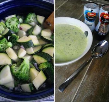 courgette broccoli